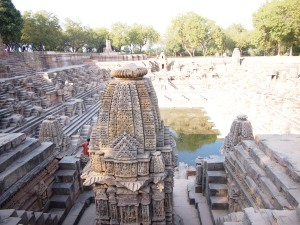 Step-Well at the Sun Temple of Modhera